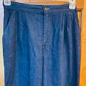 Laurente' Woman's Vintage 80's Cuffed Jogger Pants